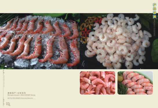 Wild pud shrimp