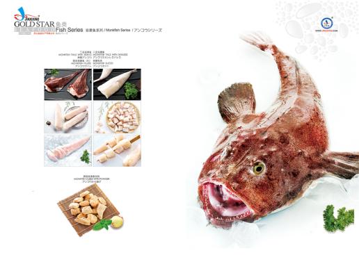 冻安康鱼产品系列